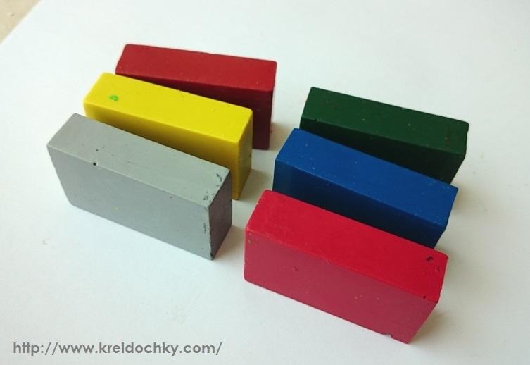Воскові крейдочки-блоки Stockmar