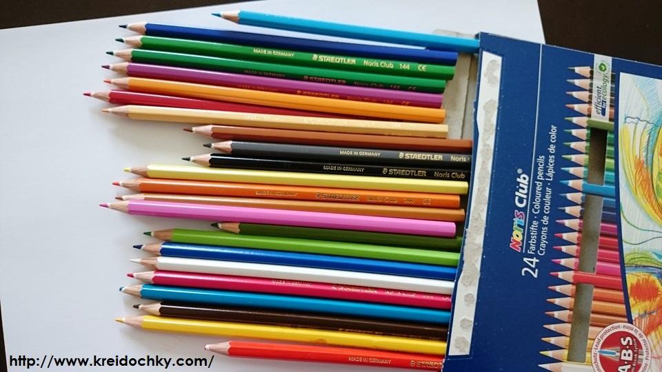 олівці кольорові