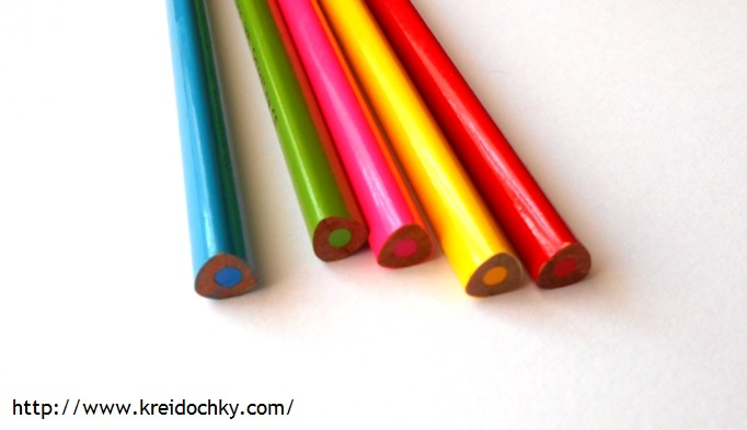 трикутні олівці для дітей