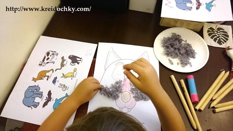 """Творча частина заняття на тему """"Ссавці"""" хоумскульного кооперативу DUNEHA (Дубаї, ОАЕ)"""