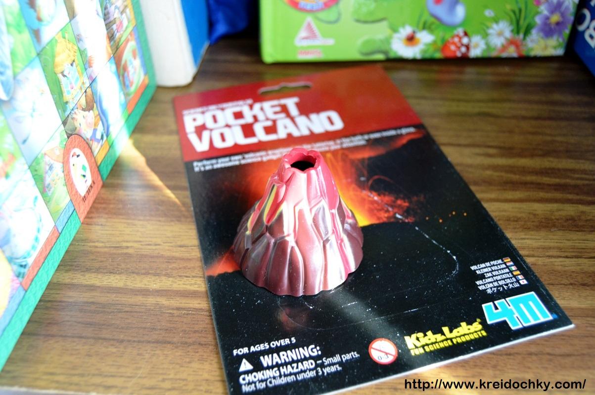 Кишеньковий вулкан. Наукова іграшка
