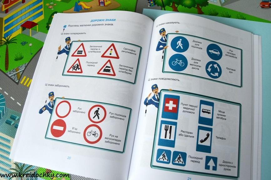 дорожні знаки, пояснення для дітей
