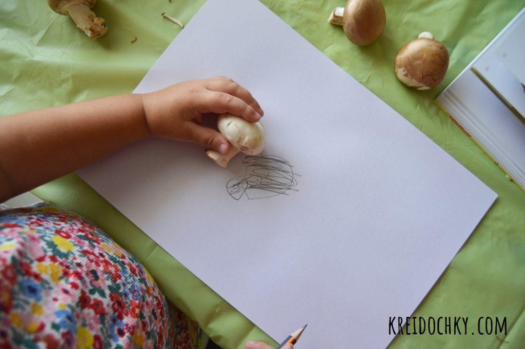 дітям про гриби